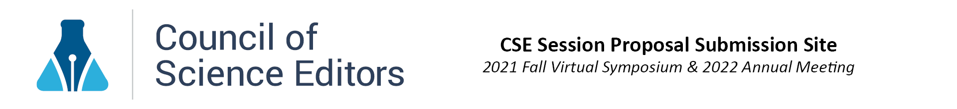 CSE 2021 Fall Symposium & 2022 Annual Meeting Proposals Event Banner