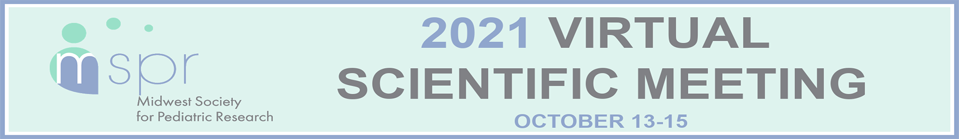 MSPR 2021 Virtual Scientific Meeting Event Banner