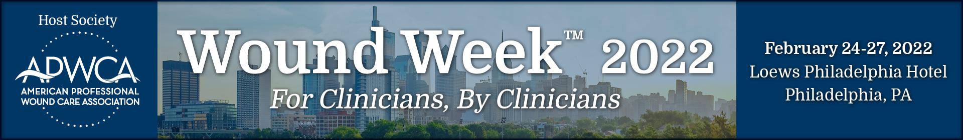 Wound Week 2022 Event Banner