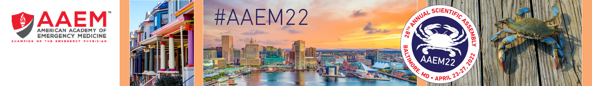 28th Annual Scientific Assembly (AAEM22) Event Banner