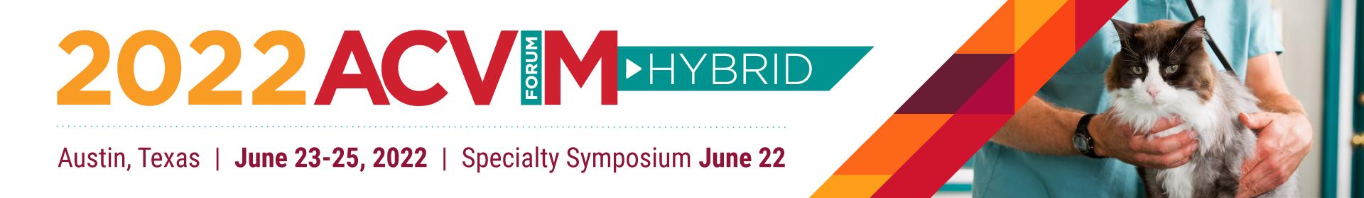 2022 ACVIM Forum Event Banner