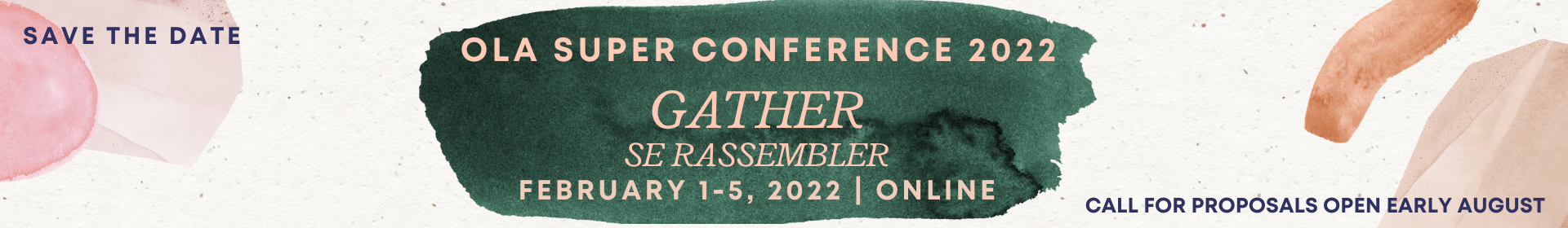 OLA Super Conference 2022 Event Banner