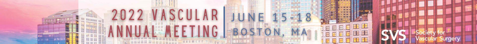 2022 Vascular Annual Meeting Event Banner
