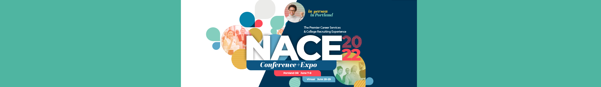 NACE22 Conference and Virtual Event Event Banner
