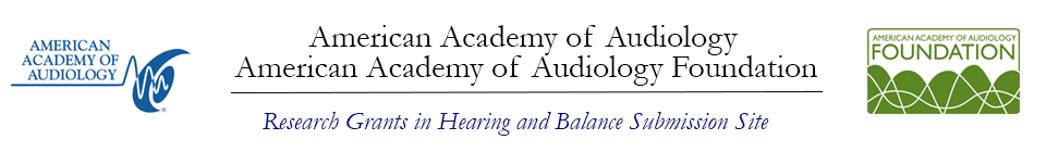 Research Grants in Hearing and Balance 2020 Event Banner