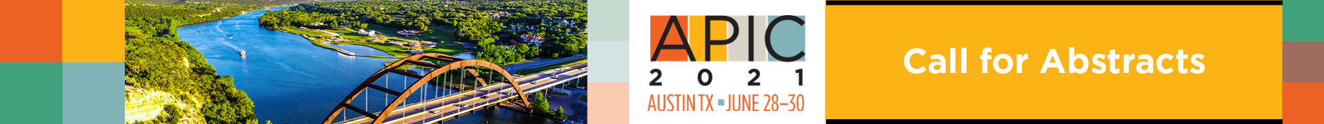 APIC 2021 Call for Abstracts Event Banner