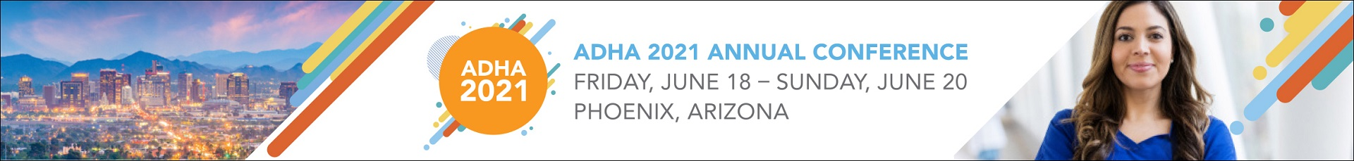 ADHA 2021 Annual Conference  Event Banner