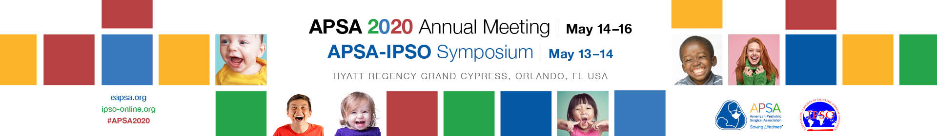 APSA-IPSO Symposium and APSA 2020 Annual Meeting Event Banner