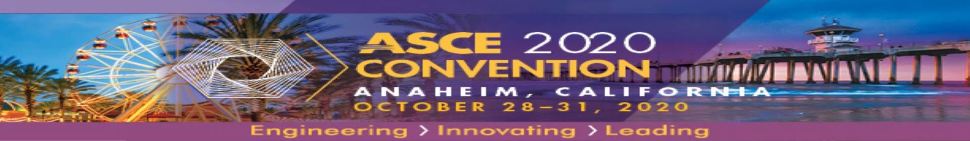 2020 ASCE Annual Meeting Event Banner