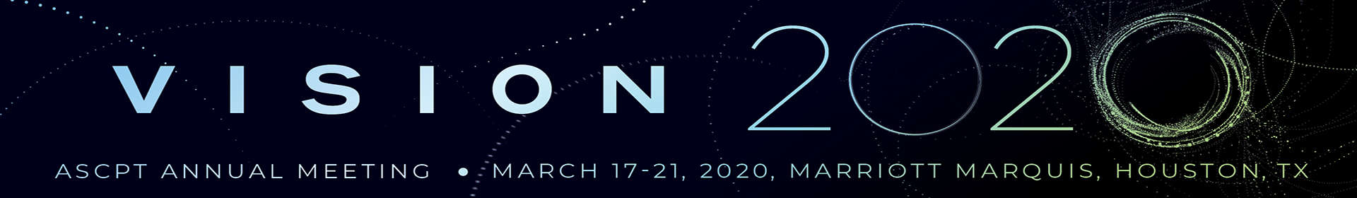 ASCPT 2020 Annual Meeting Event Banner