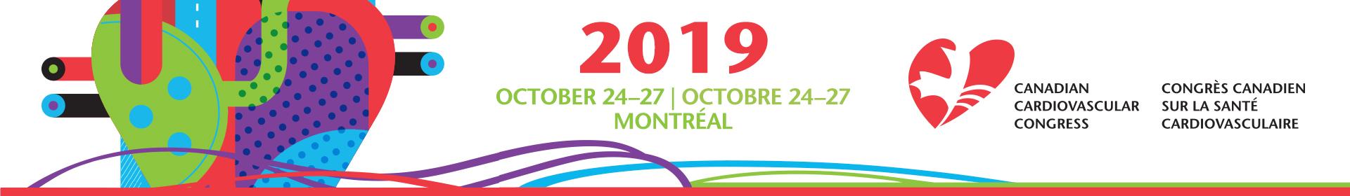 2019 Canadian Cardiovascular Congress Event Banner