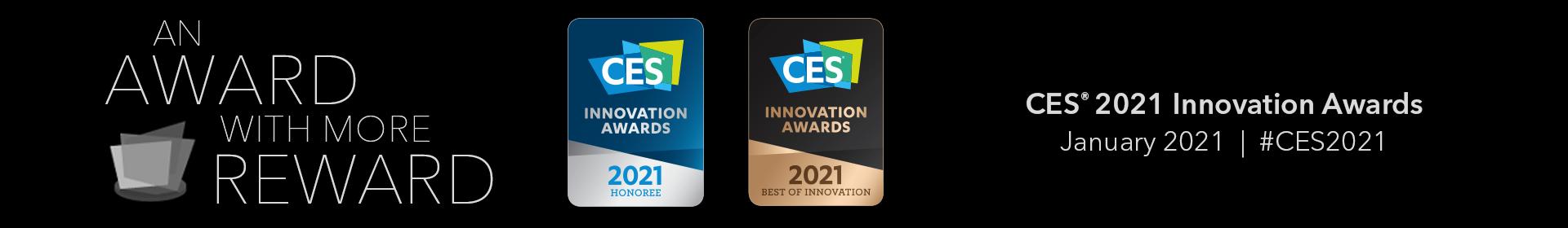 CES 2021 Innovation Awards Event Banner