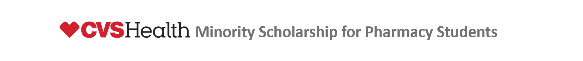 CVS Health Minority Scholarship for Pharmacy Students Event Banner
