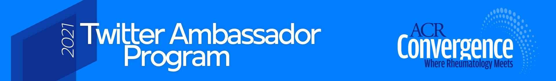 Twitter Ambassador Program