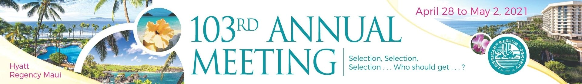 2021 Annual Meeting Event Banner