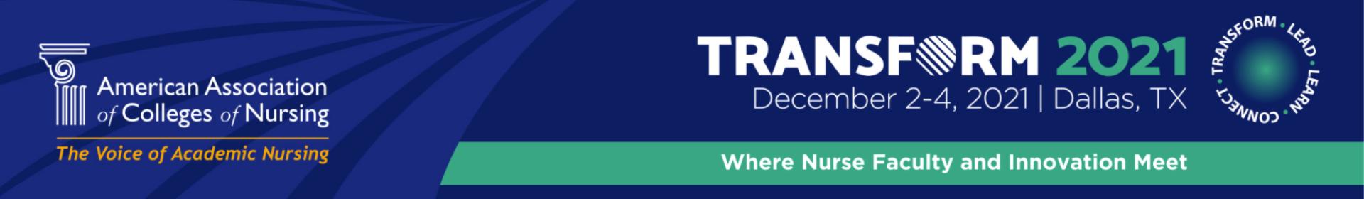 Transform 2021 Event Banner