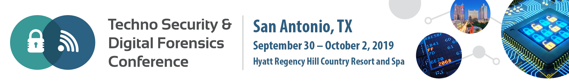 Texas Techno Security & Digital Forensics Conference Event Banner