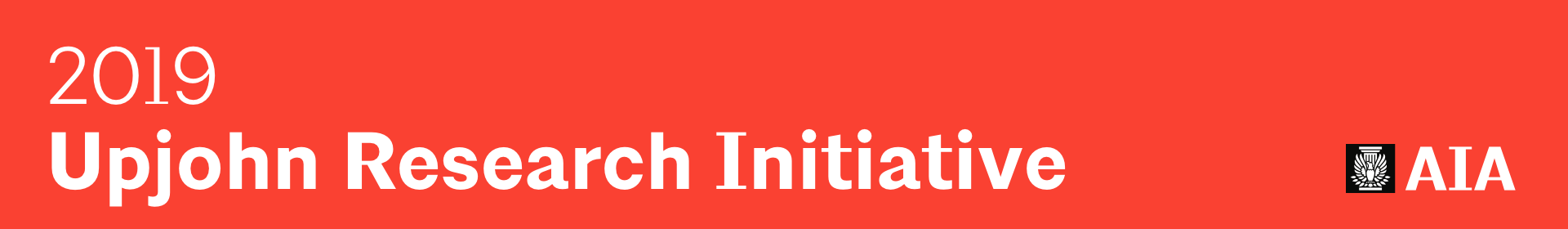 AIA Upjohn Research Initiative Grants Event Banner