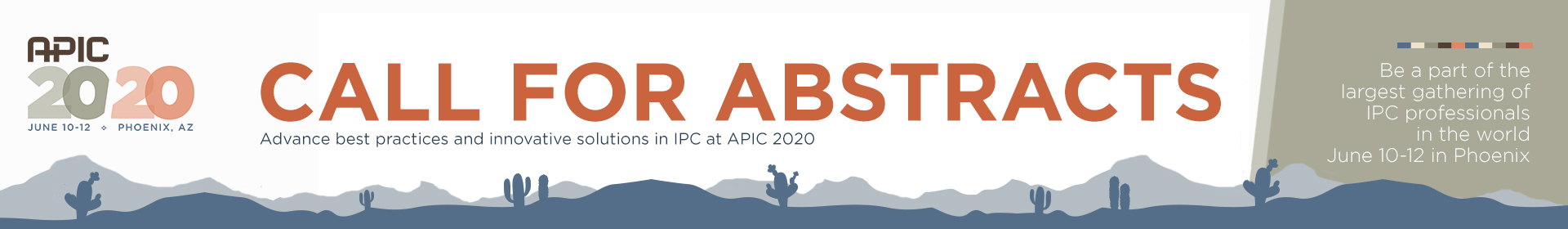 APIC 2020 Annual Conference Call for Abstracts  Event Banner
