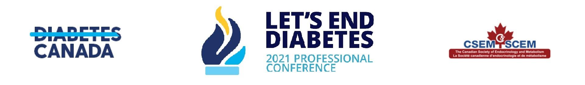 2021 Diabetes Canada/CSEM Professional Conference Event Banner