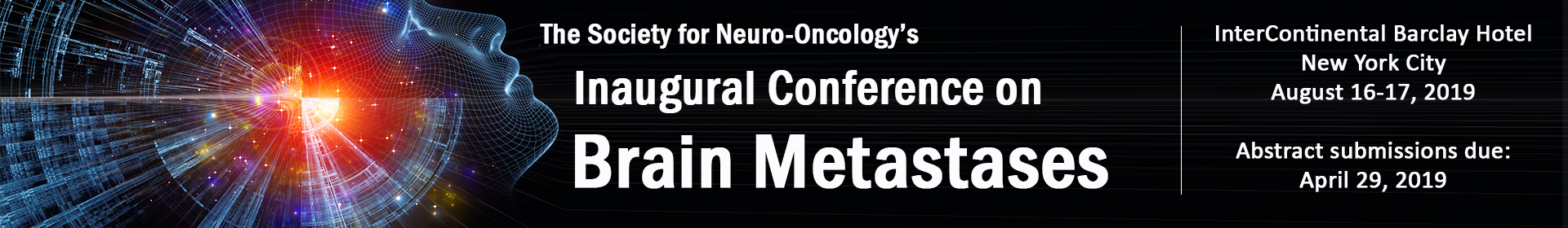 SNO Inaugural Conference on Brain Metastases Event Banner