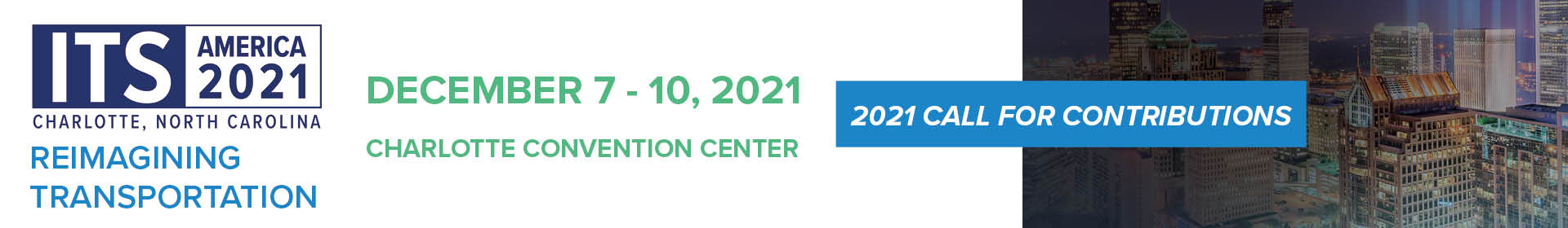ITS America 2021 Annual Meeting Event Banner