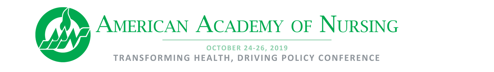 Academy's 2019 Transforming Health Driving Policy Conference Event Banner
