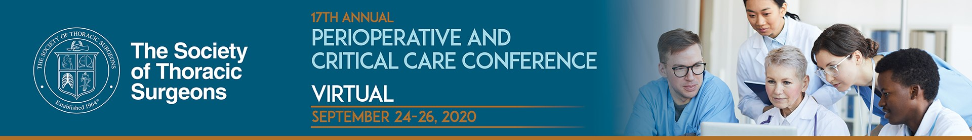 STS 17th Annual Perioperative Critical Care Conference Event Banner