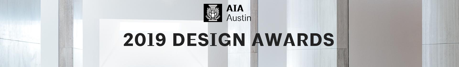 2019 Design Awards Event Banner