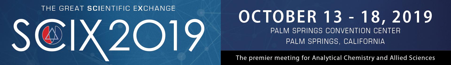 FACSS SciX 2019 Event Banner