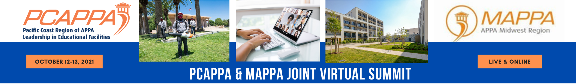 PCAPPA & MAPPA Joint Virtual Summit 2021  Event Banner