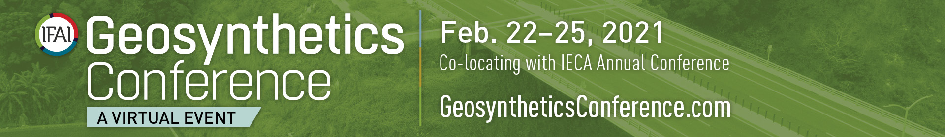 Geosynthetics Conference 2021 Event Banner