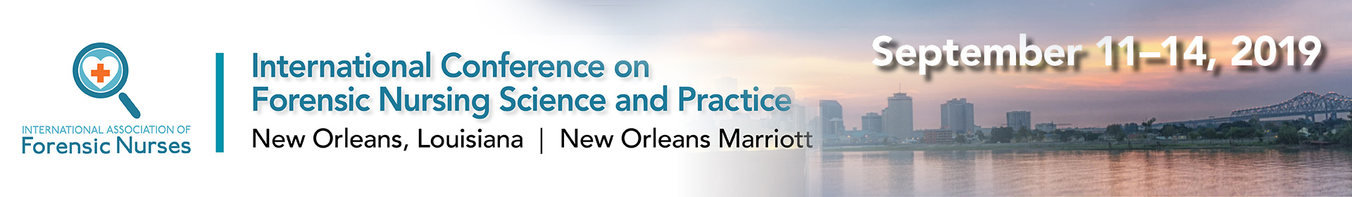 2019 International Conference on Forensic Nursing Science and Practice Event Banner