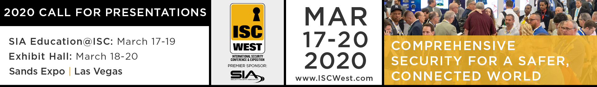 ISC West 2020 Event Banner