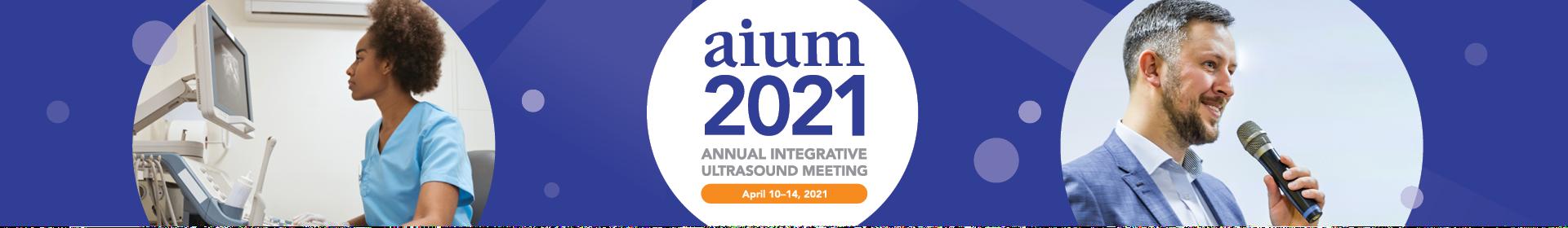 AIUM 2021 Event Banner