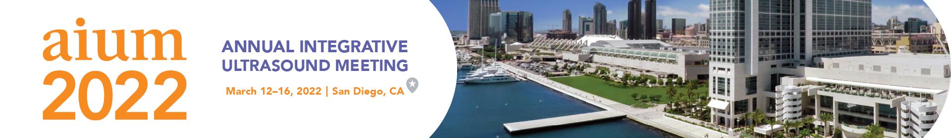 AIUM 2022 Annual Meeting Banner Image