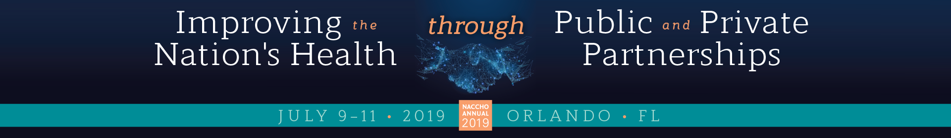 NACCHO Annual 2019 Event Banner