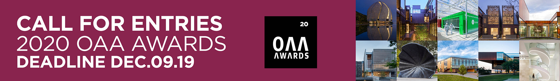 2020 OAA Awards Event Banner