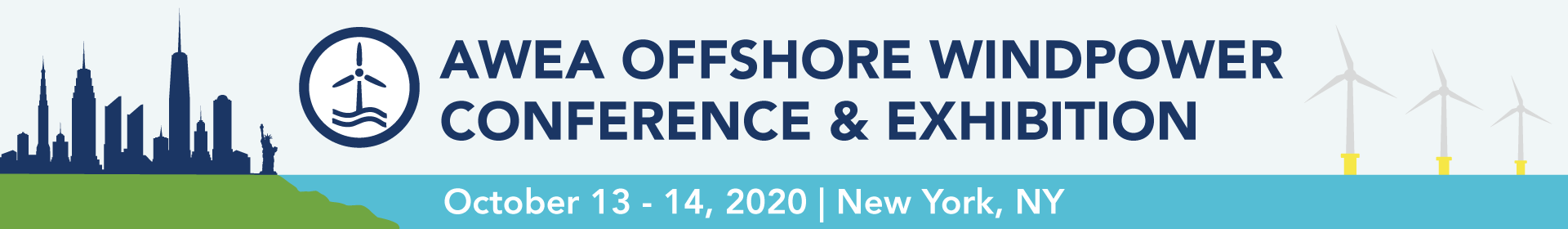 AWEA Offshore WINDPOWER Conference and Exhibition 2020 Event Banner
