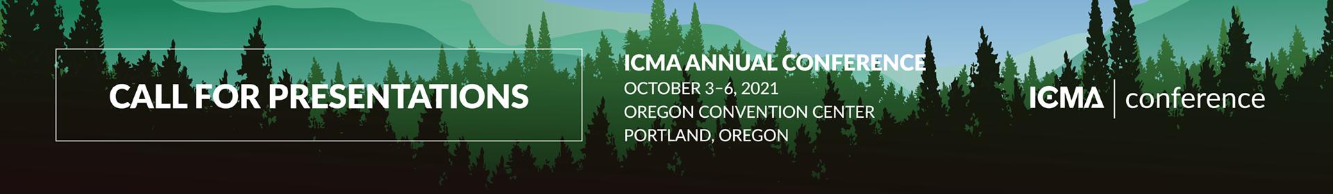 2021 ICMA Annual Conference Event Banner