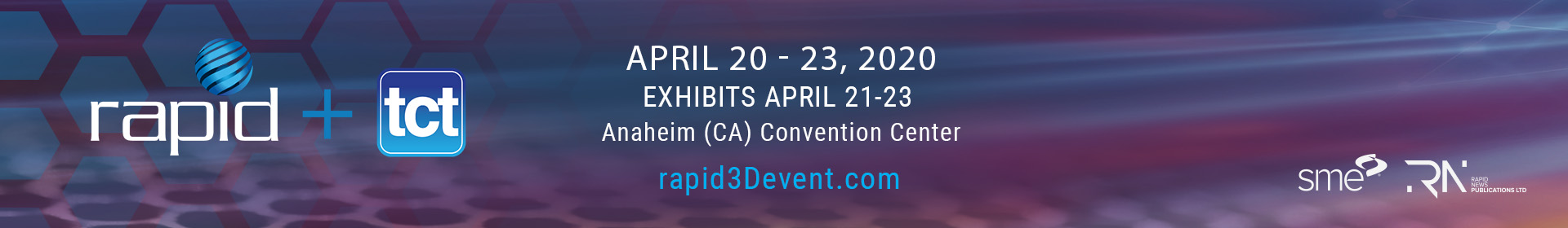 RAPID + TCT 2020 Event Banner