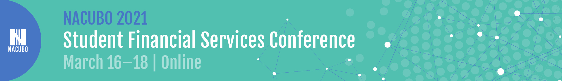 2021 Student Financial Services Conference  Event Banner