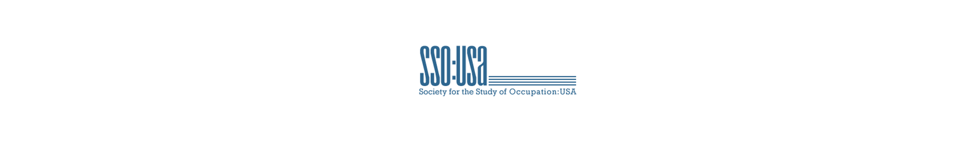 SSO:USA Society for the Study of Occupation