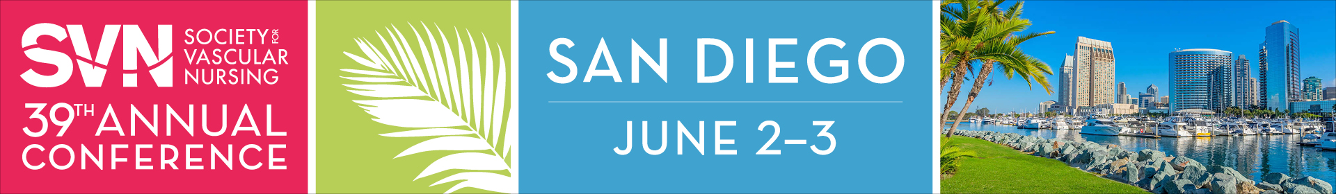 Society for Vascular Nursing 2021 Annual Conference  Event Banner