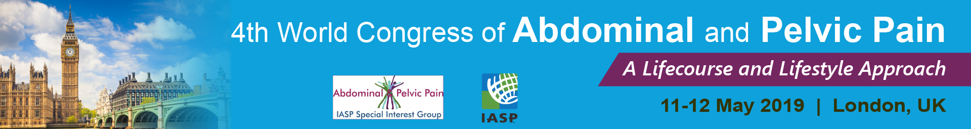 4th World Congress on Abdominal and Pelvic Pain Event Banner
