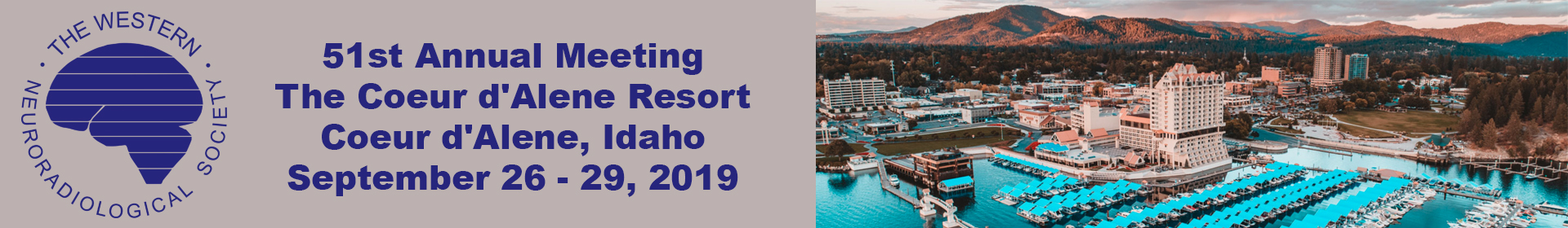 WNRS Annual Meeting in Coeur d'Alene Idaho on September 26-29, 2019