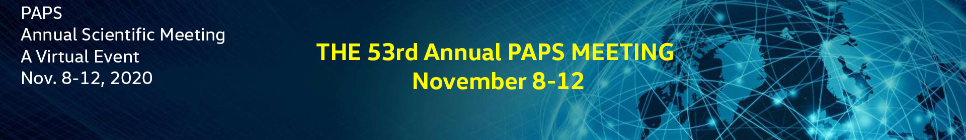 PAPS 2020 Event Banner