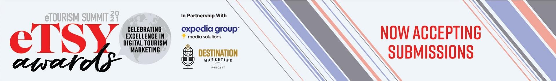 2021 eTSY Awards at eTourism Summit  Event Banner