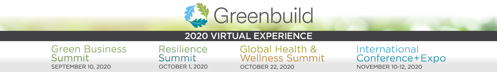 Greenbuild 2020 Event Banner
