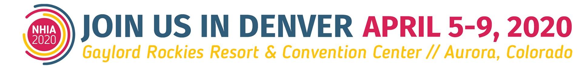 NHIA 2020 Annual Meeting Event Banner